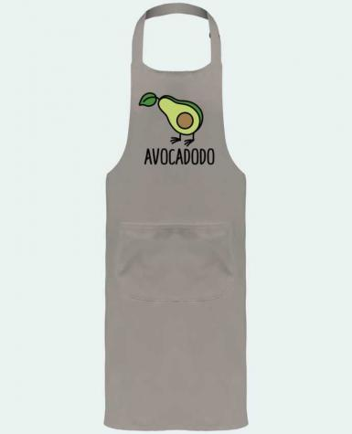 Garden or Sommelier Apron with Pocket Avocadodo by LaundryFactory