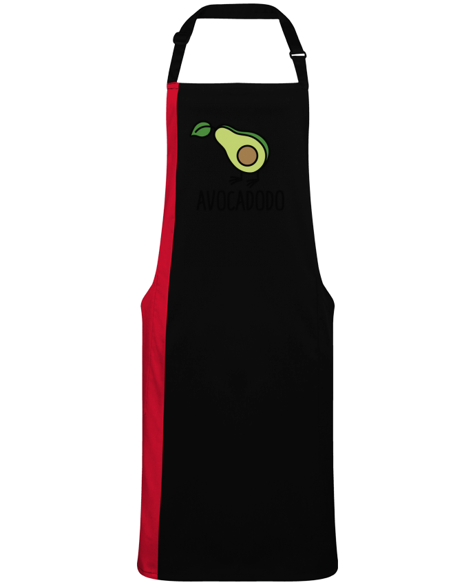 Two-tone long Apron Avocadodo by  LaundryFactory