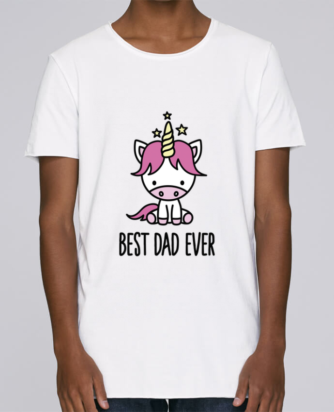 T-shirt Men Oversized Stanley Skates Best dad ever by LaundryFactory