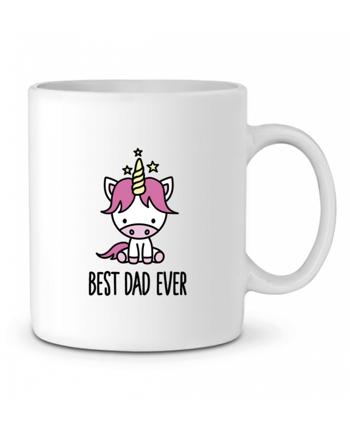 Ceramic Mug Best dad ever by LaundryFactory