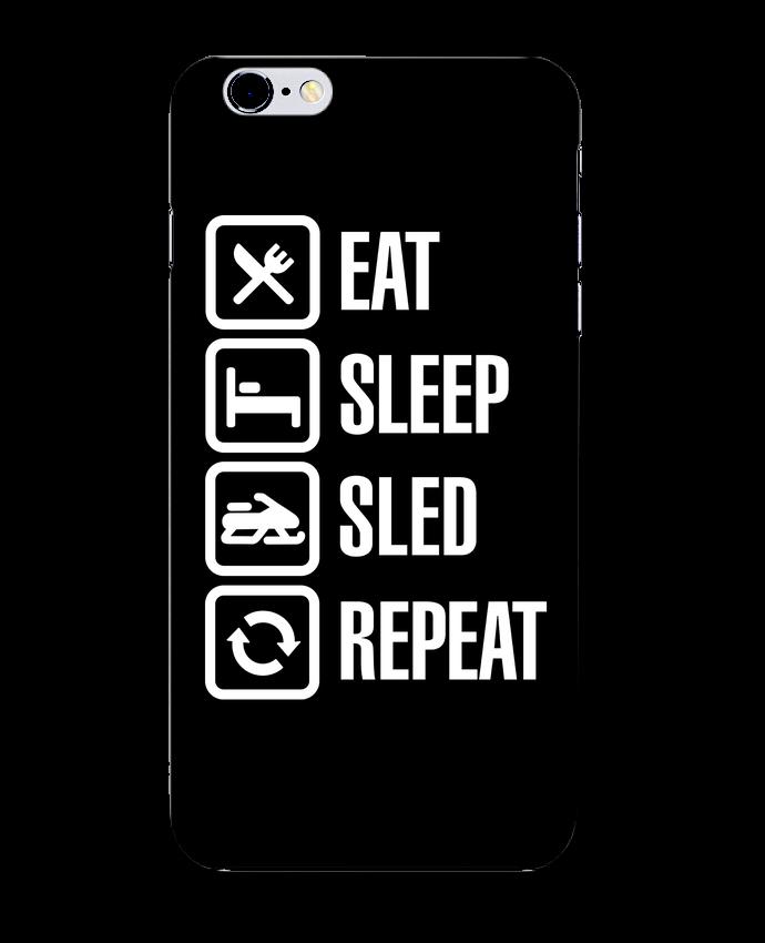 Case 3D iPhone 6+ Eat, sleep, sled, repeat de LaundryFactory