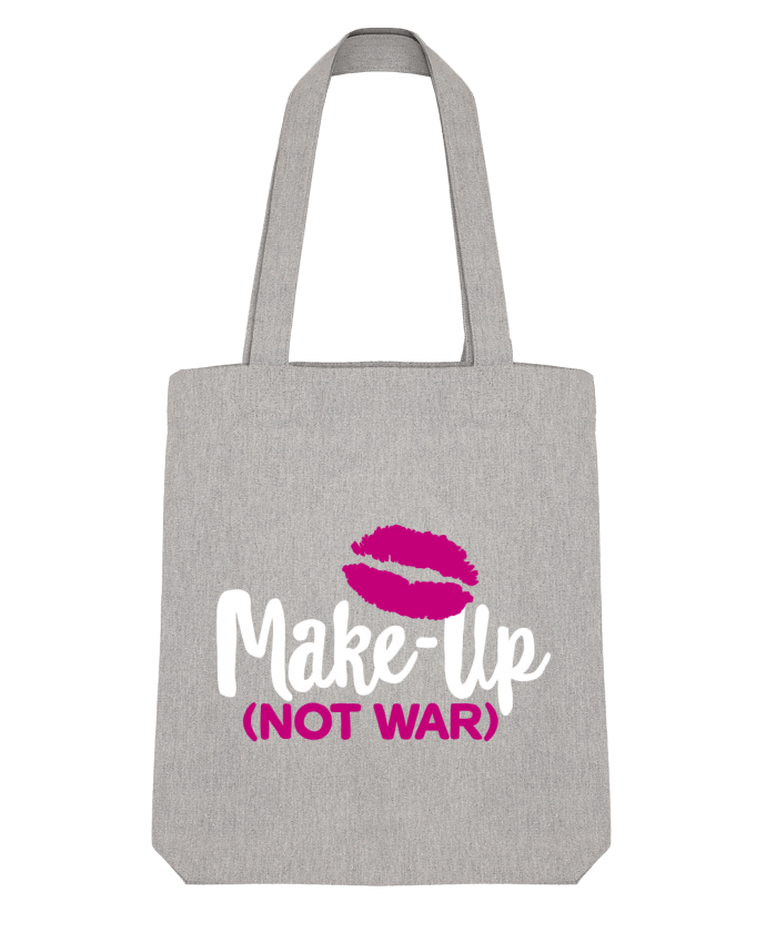 Tote Bag Stanley Stella Make up not war by LaundryFactory