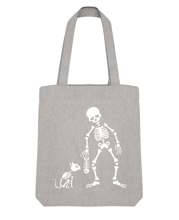 Tote Bag Stanley Stella Cats like fish by LaundryFactory