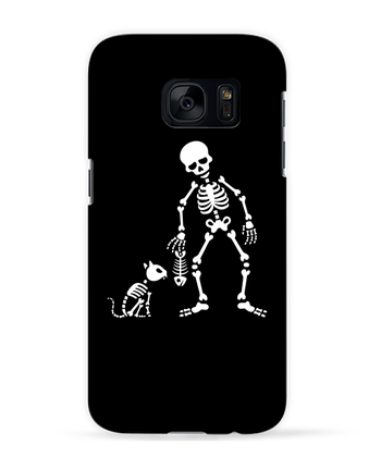 Case 3D Samsung Galaxy S7 Cats like fish by LaundryFactory
