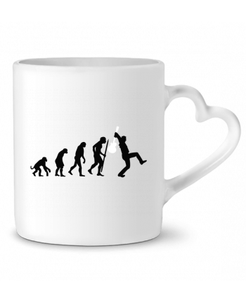 Mug Heart Evolution Rock by LaundryFactory