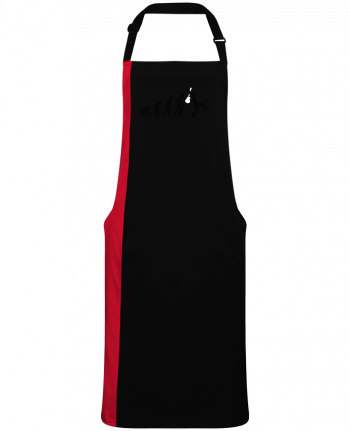 Two-tone long Apron Evolution Rock by  LaundryFactory