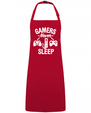 Apron no Pocket Gamers never sleep by  LaundryFactory