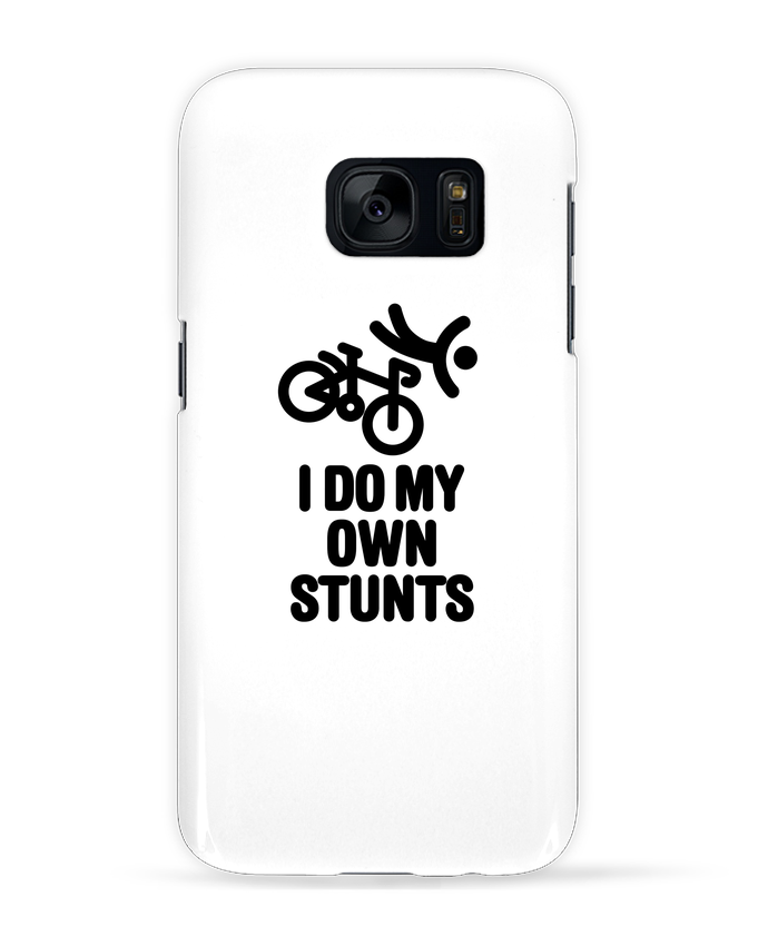 Case 3D Samsung Galaxy S7 I do my own stunts by LaundryFactory