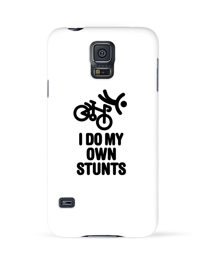 Case 3D Samsung Galaxy S5 I do my own stunts by LaundryFactory