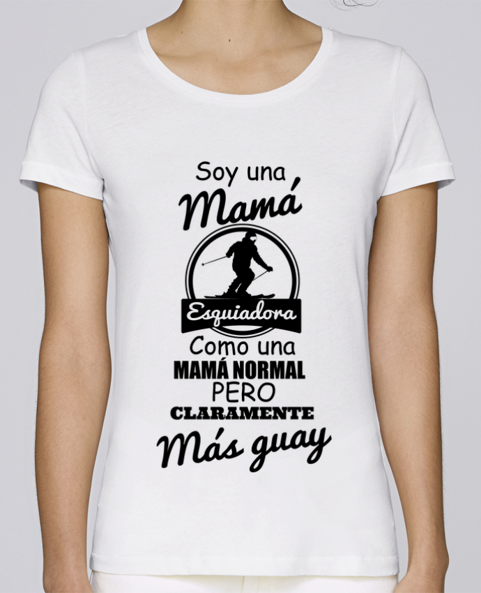 T-shirt Women Stella Loves Mamá esquiadora by tunetoo