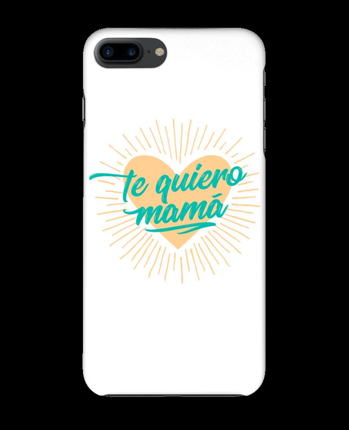 Case 3D iPhone 7+ te quiero mamá by tunetoo