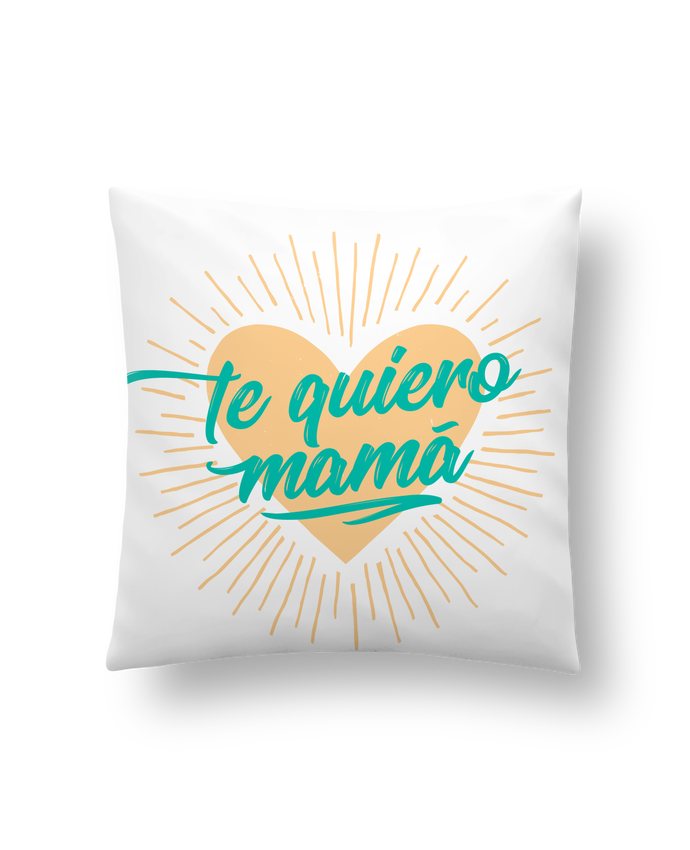 Cushion synthetic soft 45 x 45 cm te quiero mamá by tunetoo