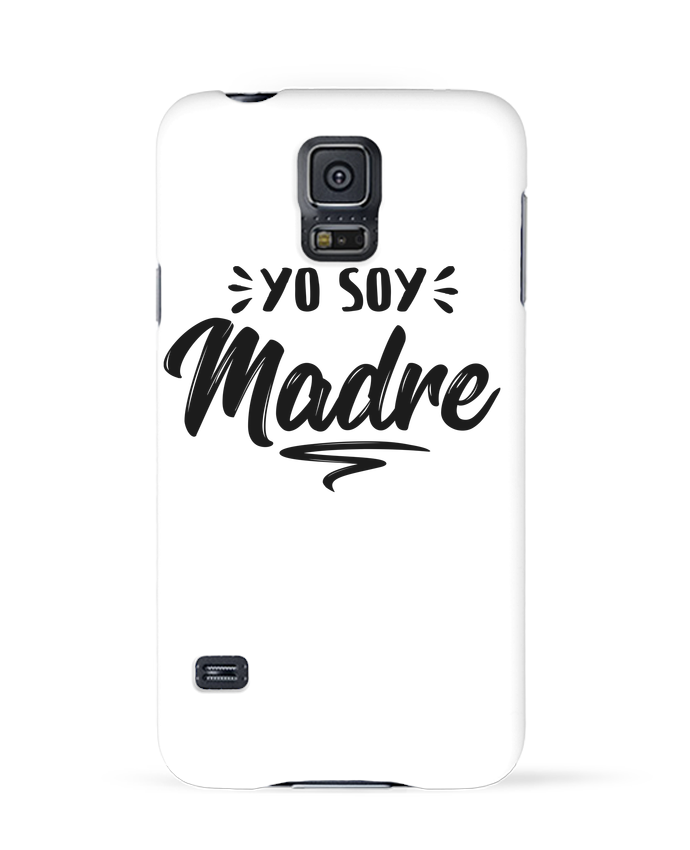 Case 3D Samsung Galaxy S5 Soy madre by tunetoo