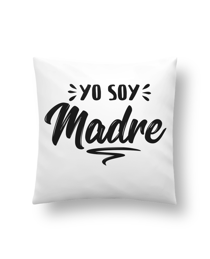Cushion synthetic soft 45 x 45 cm Soy madre by tunetoo