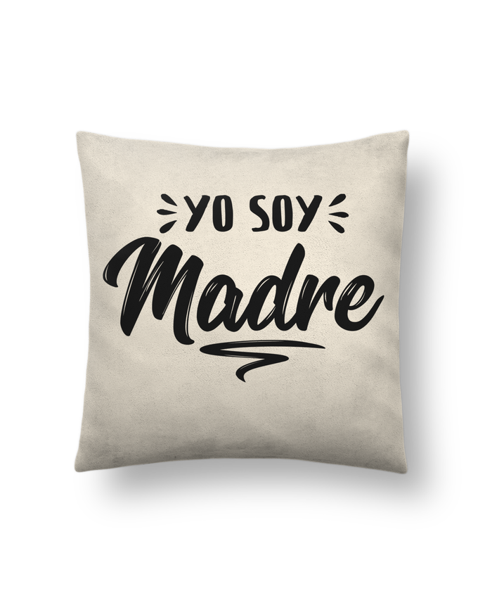 Cushion suede touch 45 x 45 cm Soy madre by tunetoo