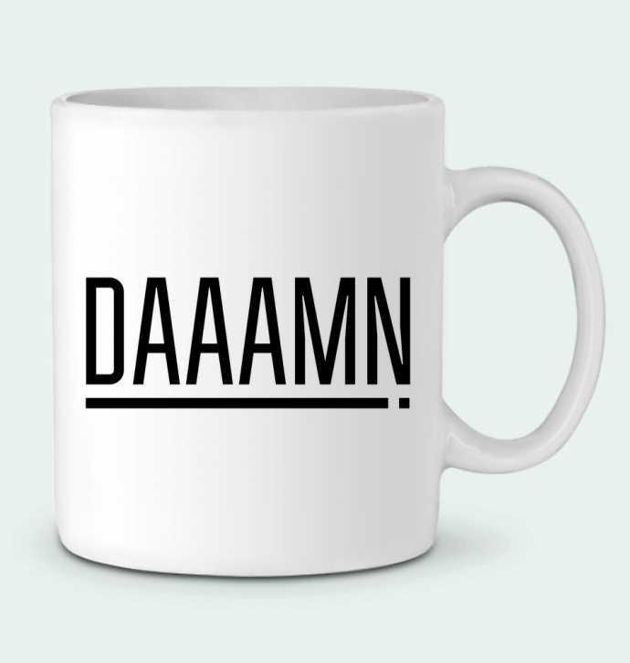 Ceramic Mug Daaamn ! by tunetoo