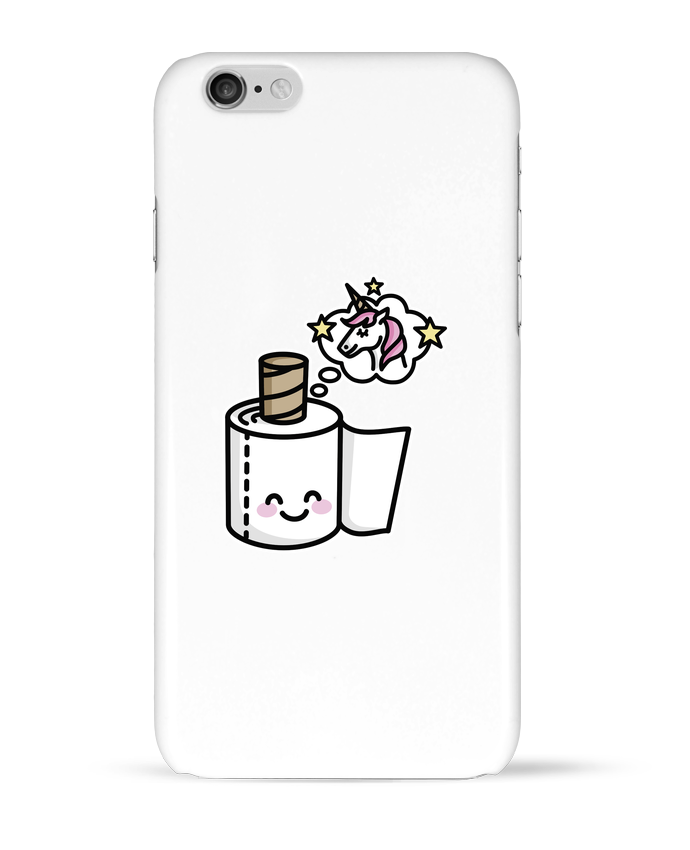Case 3D iPhone 6 Unicorn Toilet Paper by LaundryFactory