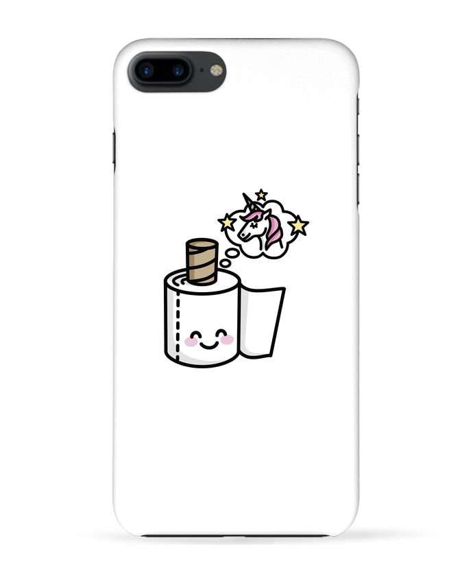 Case 3D iPhone 7+ Unicorn Toilet Paper by LaundryFactory
