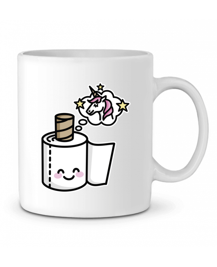 Ceramic Mug Unicorn Toilet Paper by LaundryFactory