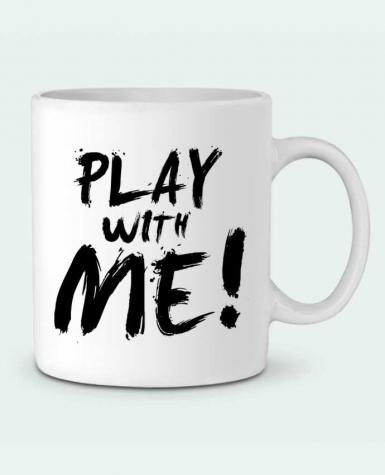 Ceramic Mug Play with me ! by tunetoo