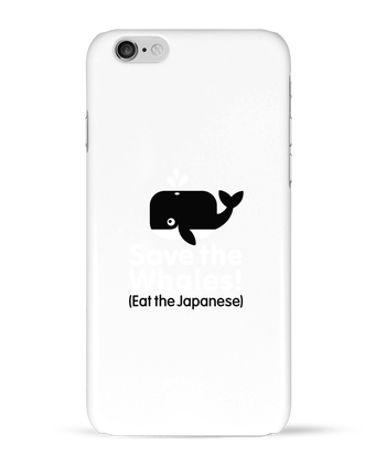Case 3D iPhone 6 SAVE THE WHALES EAT THE JAPANESE by LaundryFactory