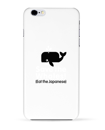 Case 3D iPhone 6+ SAVE THE WHALES EAT THE JAPANESE de LaundryFactory