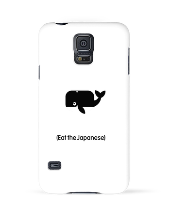 Case 3D Samsung Galaxy S5 SAVE THE WHALES EAT THE JAPANESE by LaundryFactory