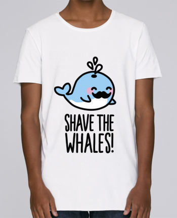 T-shirt Men Oversized Stanley Skates SHAVE THE WHALES by LaundryFactory