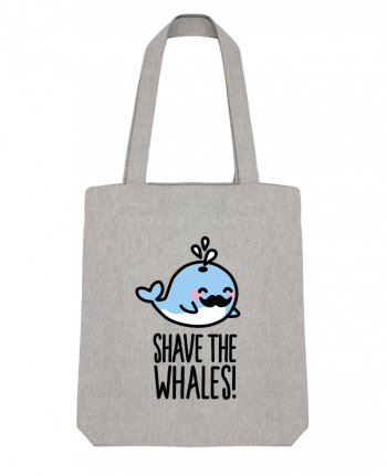 Tote Bag Stanley Stella SHAVE THE WHALES by LaundryFactory
