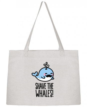 Shopping tote bag Stanley Stella SHAVE THE WHALES by LaundryFactory