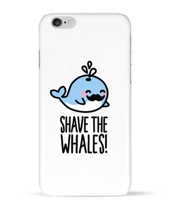 Case 3D iPhone 6 SHAVE THE WHALES by LaundryFactory