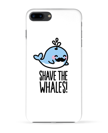 Case 3D iPhone 7+ SHAVE THE WHALES by LaundryFactory