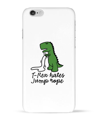 Case 3D iPhone 6 TREX HATES JUMP ROPE by LaundryFactory