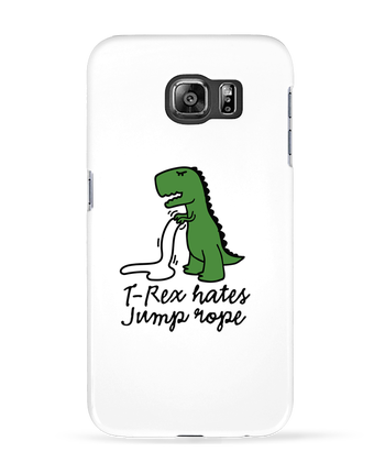 Case 3D Samsung Galaxy S6 TREX HATES JUMP ROPE - LaundryFactory