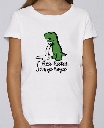 T-shirt Women Stella Draws TREX HATES JUMP ROPE by LaundryFactory