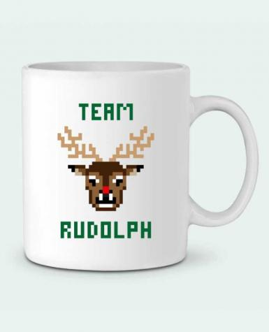 Ceramic Mug TEAM RUDOLPH by tunetoo