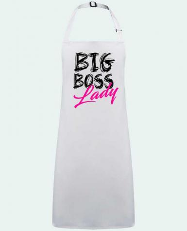 Apron no Pocket big boss lady by  DesignMe