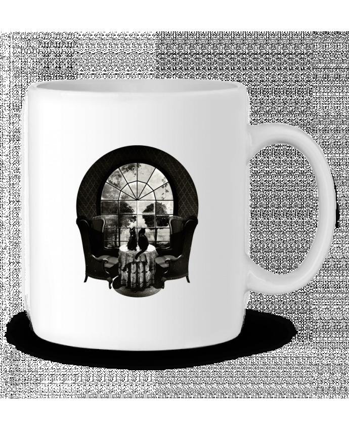 Ceramic Mug Room skull by ali_gulec
