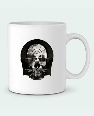 Ceramic Mug Room skull by ali_gulec