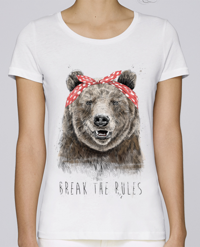 T-shirt Women Stella Loves Break the rules II by Balàzs Solti