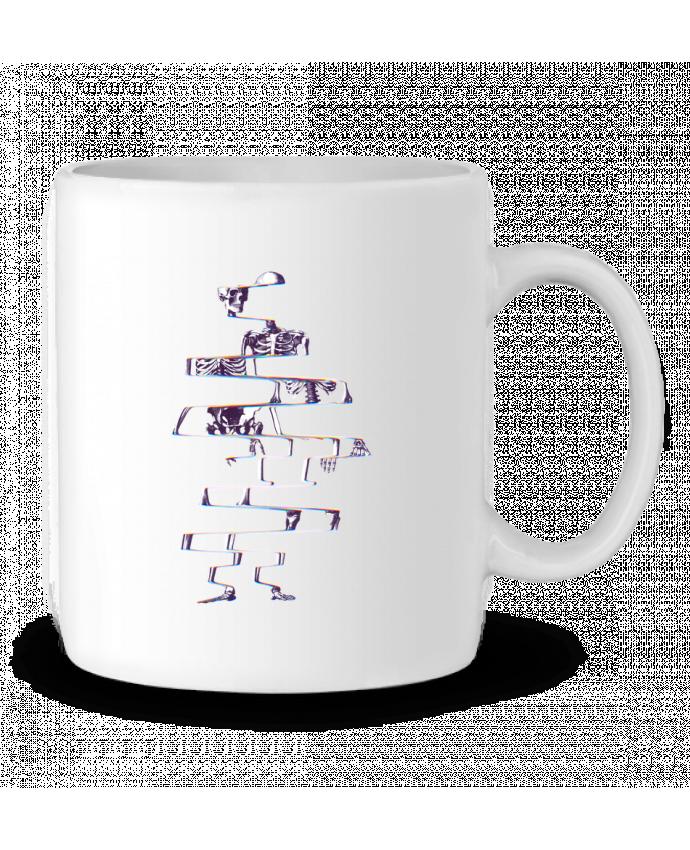 Ceramic Mug Skeleton by ali_gulec