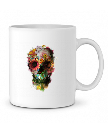Ceramic Mug Skull 2 by ali_gulec