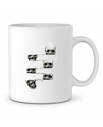 Ceramic Mug Skull 3 by ali_gulec
