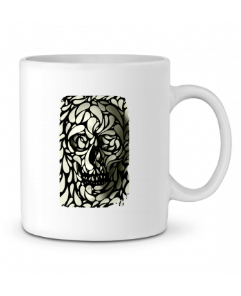 Ceramic Mug Skull 4 by ali_gulec