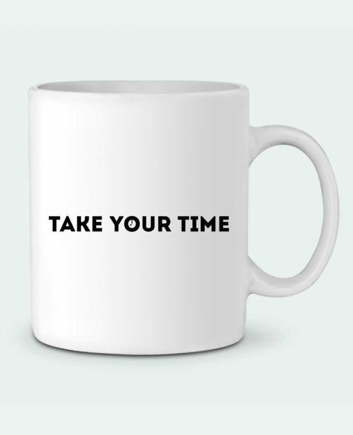 Ceramic Mug Take your time by tunetoo