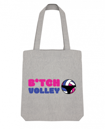 Tote Bag Stanley Stella B*tch volley by tunetoo