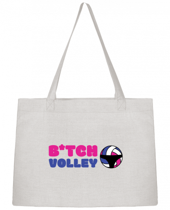 Shopping tote bag Stanley Stella B*tch volley by tunetoo