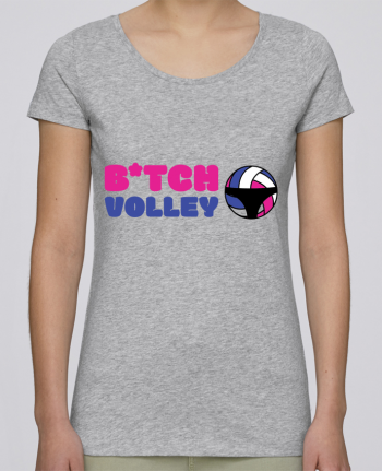 T-shirt Women Stella Loves B*tch volley by tunetoo