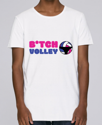 T-shirt Men Oversized Stanley Skates B*tch volley by tunetoo