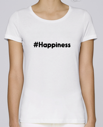 T-shirt Women Stella Loves #Happiness by tunetoo